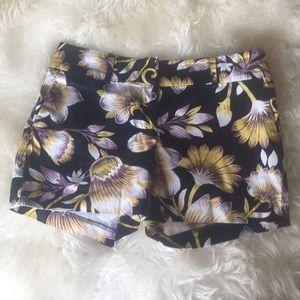 Ann Taylor Factory floral shorts